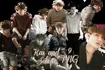 Kai and Sehun's PNG Pack {Grazia}