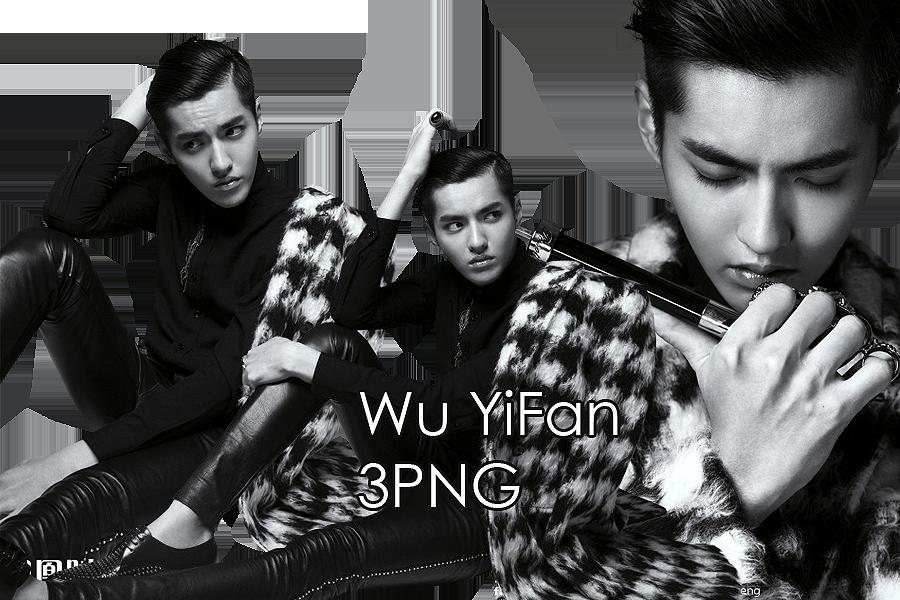 Wu YiFan PNG Pack 2 by kamjong-kai