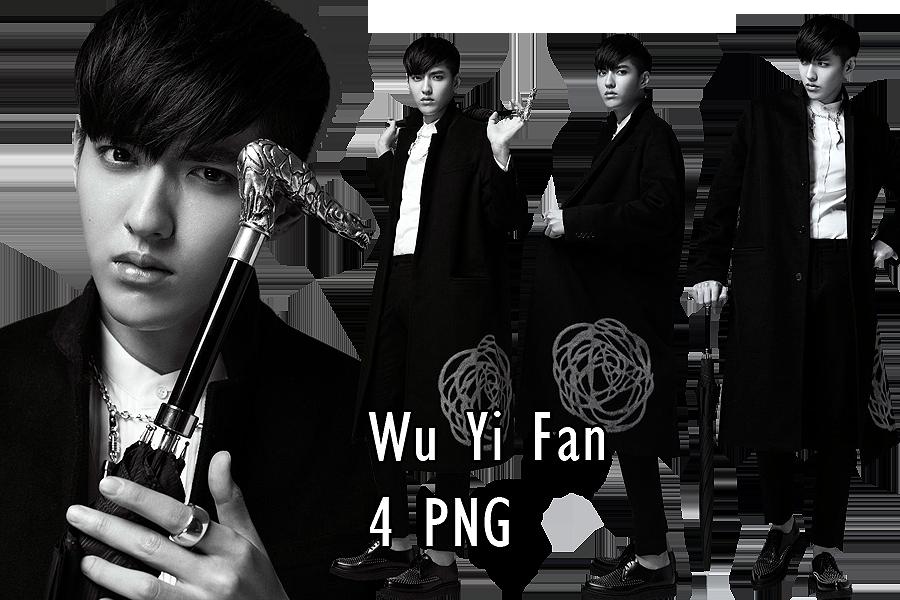 Wu YiFan PNG Pack 3 by kamjong-kai