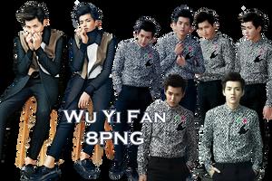 Wu YiFan PNG Pack 4