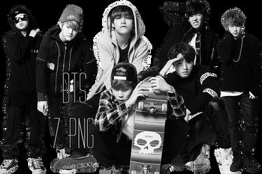 BTS PNG Pack {Cool Music} by kamjong-kai