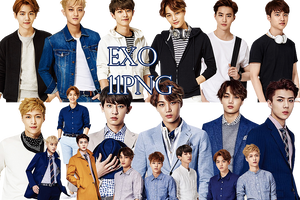 EXO PNG Pack {SPAO}