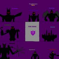 Transformers Matrix: Fan Poster (The Rise)