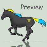 Gemini Horse