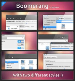 Boomerang - GTK3