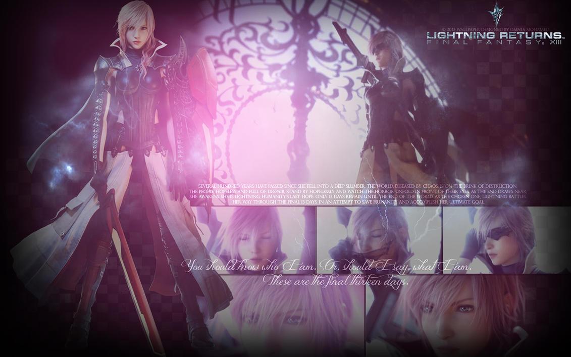 Lightning Returns: Final Fantasy XIII by OmniaMohamedArt