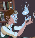 Young Wizard's Study by DeeLock