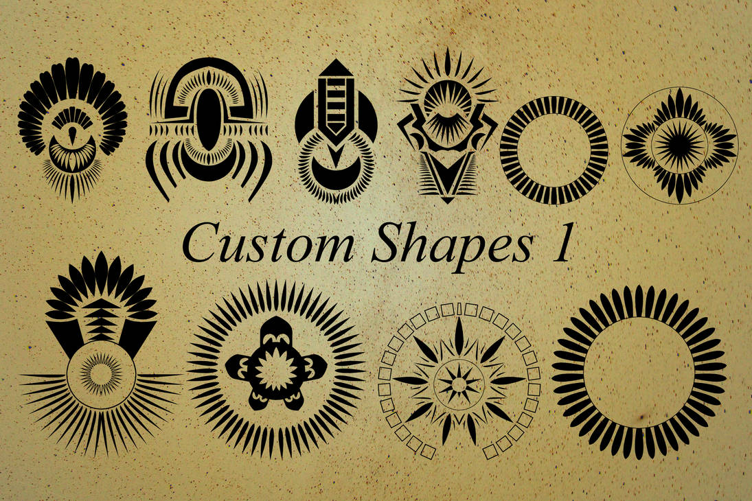 Revelation custom shapes 1 by WorldMadness