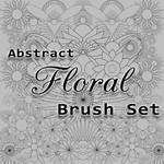 20 Free Abstract Floral Brushes