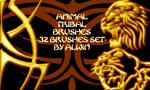Animal Brushes tribal