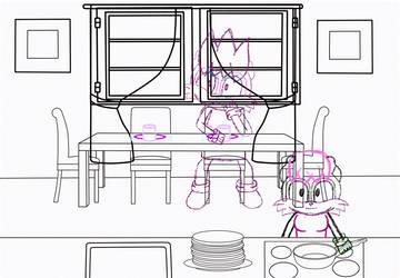 Vicki Haunted House Audio Drama Scene ep 1