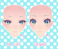 [MMD]Tda Face Edit by Mikkyunn