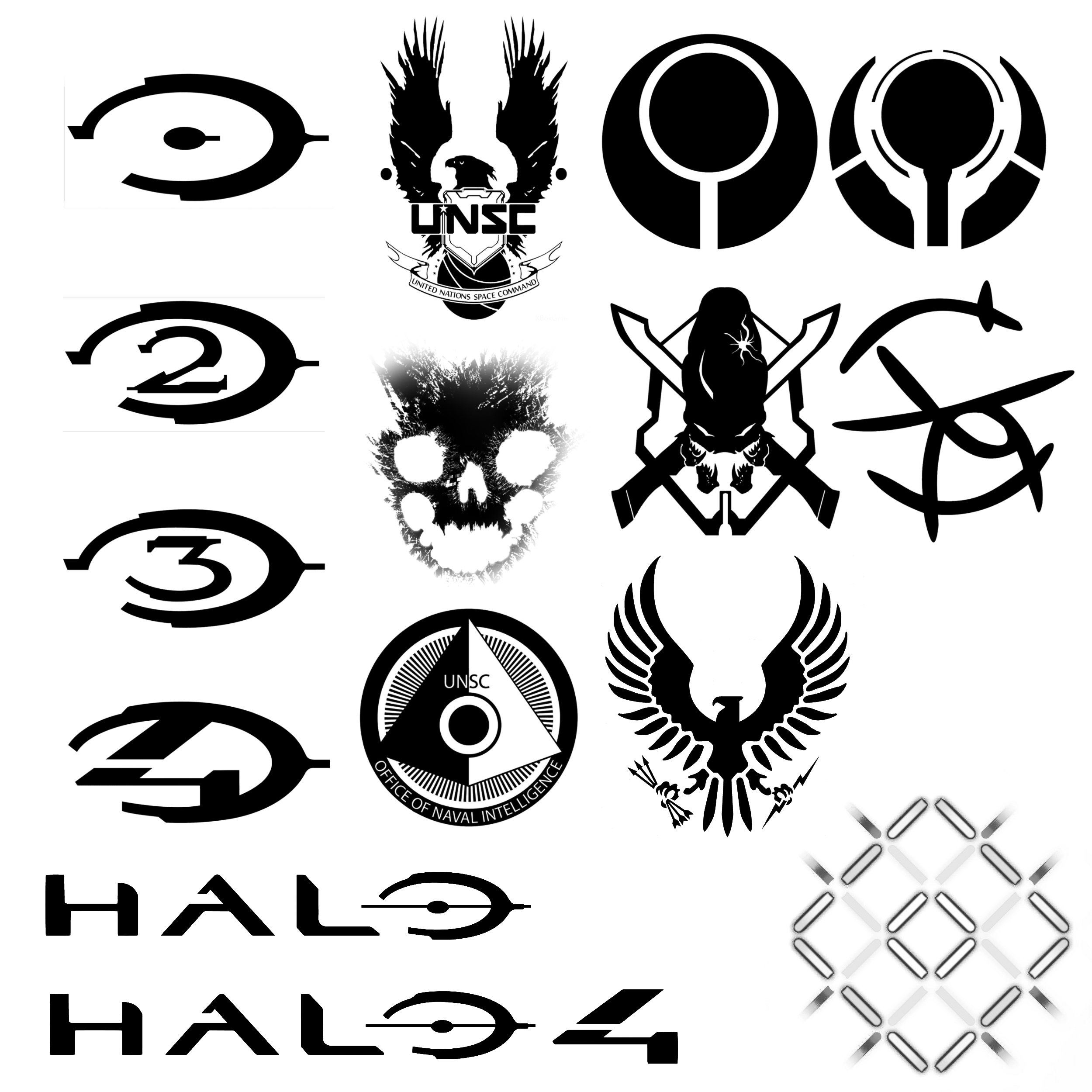 15 Hi Def Halo Themed Brushes By Nick004