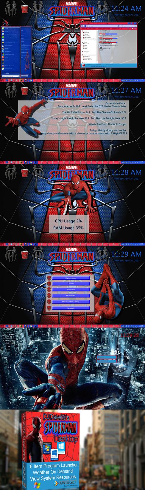 Spiderman Desktop by DJDale69