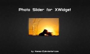 Photo Slider for XWidget