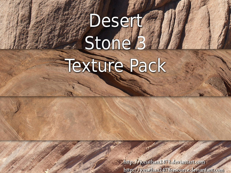Desert Stone Texture Pk 3 of 4 by DustwaveStock