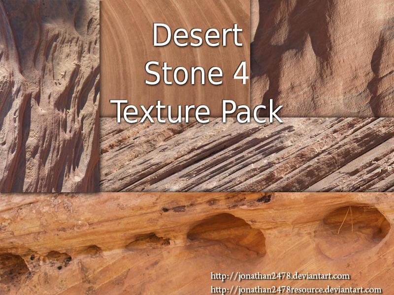 Desert Stone Texture Pk 4 of 4 by DustwaveStock