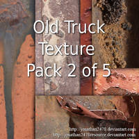 Old Truck Texture Package 2