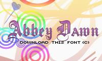 Abbey Dawn Font by Szilkx