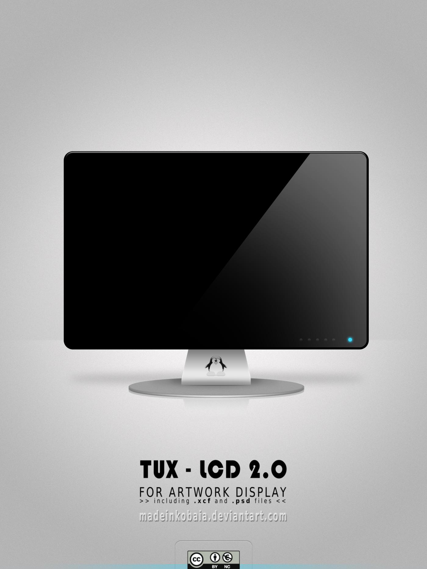 TUX-LCD 2.0 Artwork Display