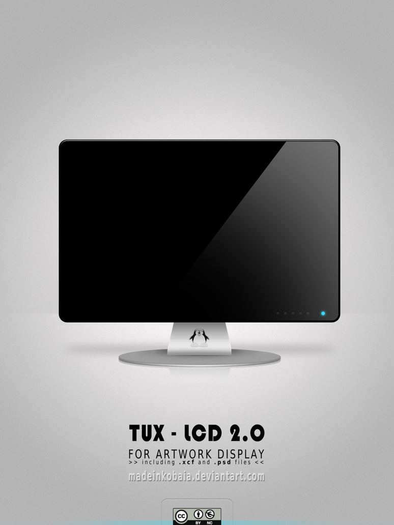 TUX-LCD 2.0 Artwork Display by MadeInKobaia