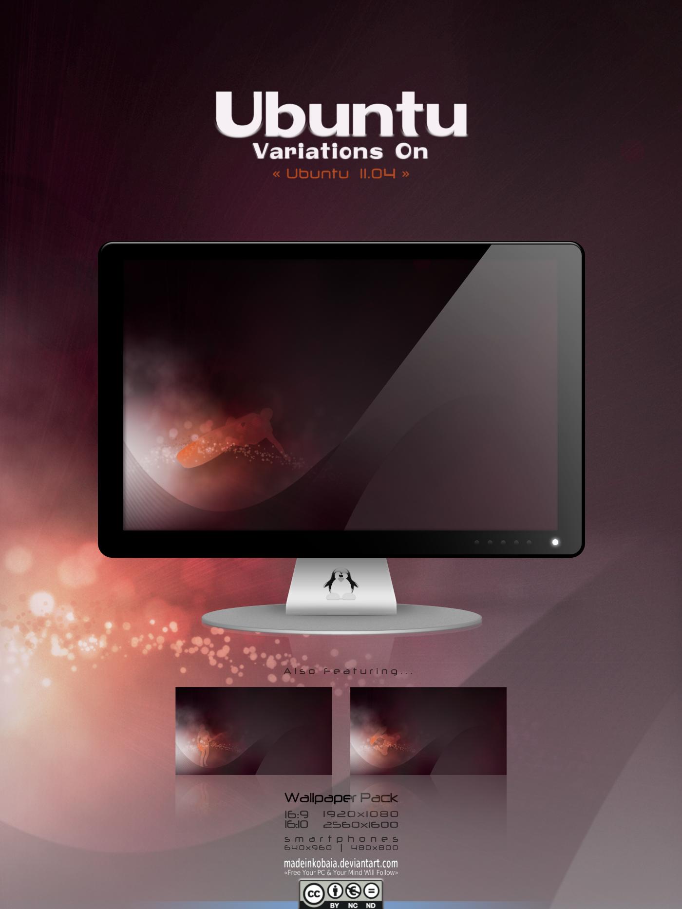 Variations On Ubuntu 11.04 1+ by MadeInKobaia