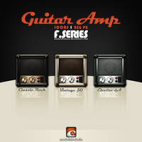 Guitar Amplifier Icons (F-Series)