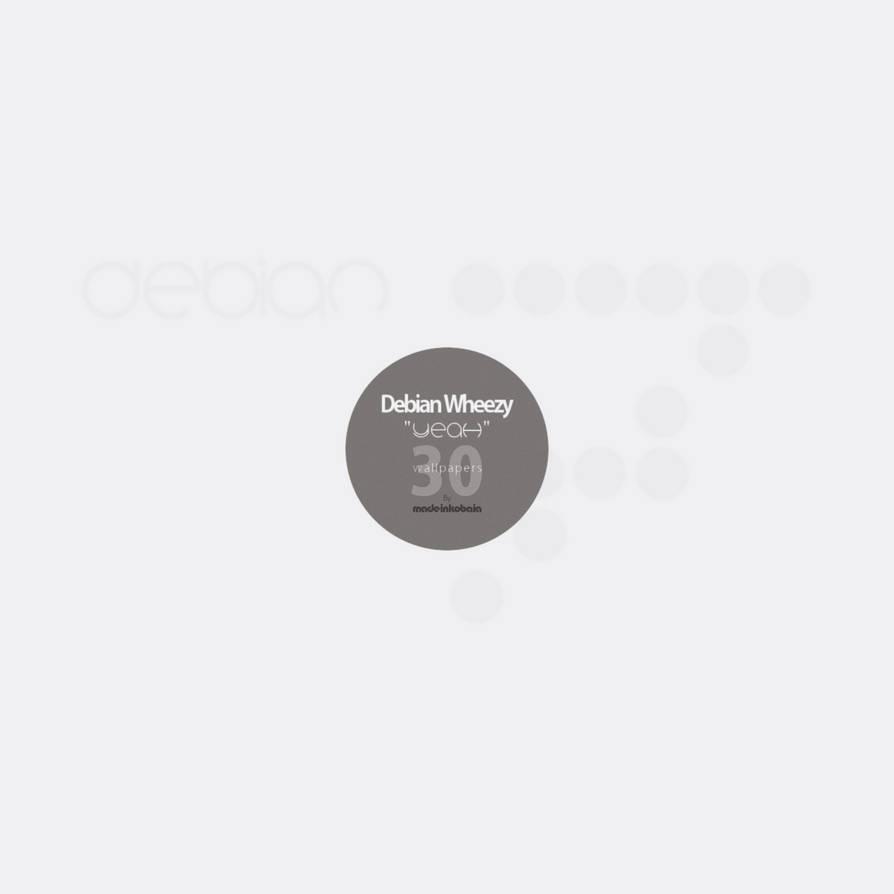 Debian Wheezy -Wallpaper Pack - Yeah by MadeInKobaia