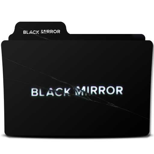 Black Mirror Folder Icon by Andreas86 on DeviantArt