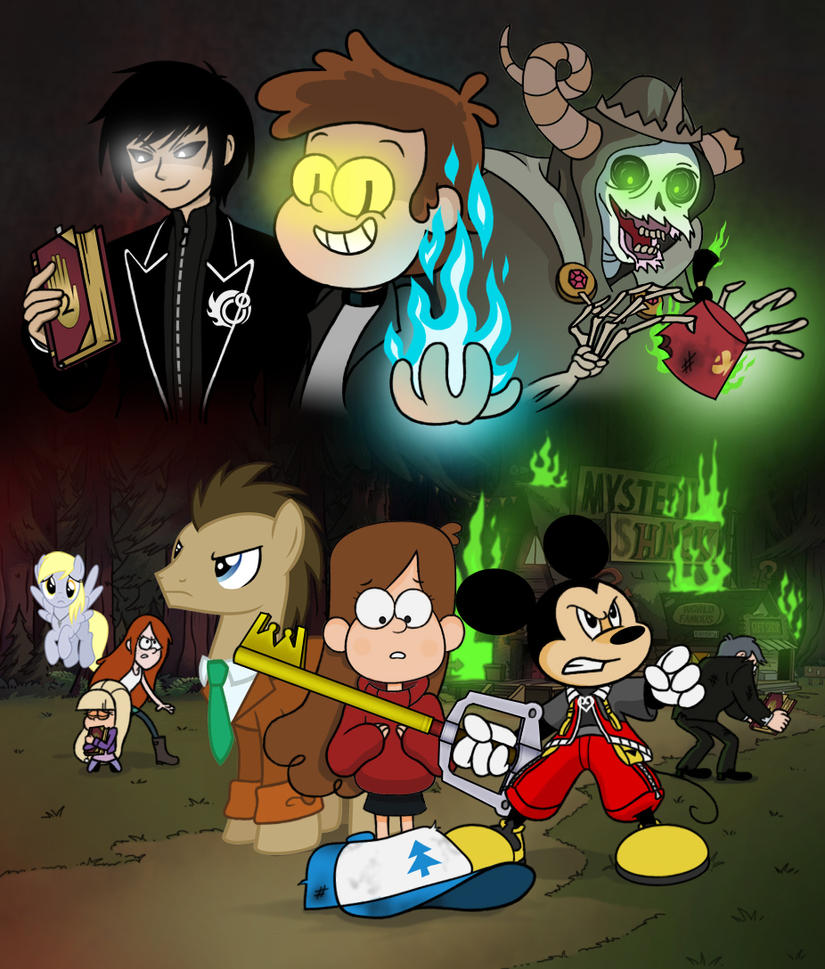 Rick Ball Ford >> The first Gravity Falls crisis : Ch 1 : The deal by Crydius on DeviantArt