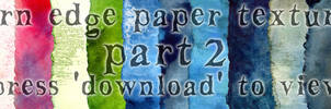 Torn-edge paper packet part 2