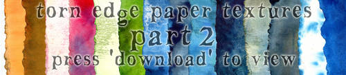 Torn-edge paper packet part 2 by hibbary