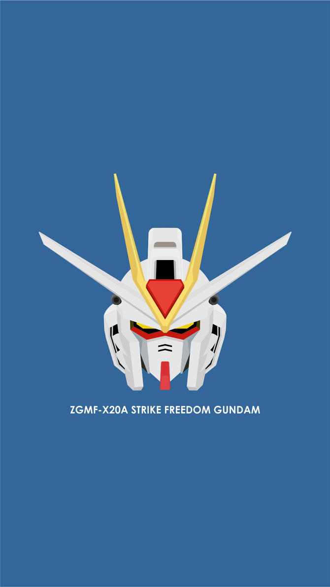 Strike Freedom Head Wallpaper by hafidhsyifa
