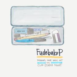 FudebakoP - Free CSP Brush Set