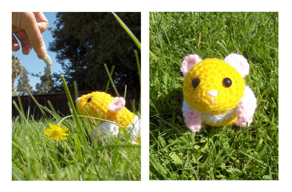 Frida Kahlo Amigurumi Free Pattern : Hamster Amigurumi Free Crochet Pattern from the Amigurumi ...