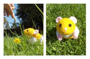 Hamster Amigurumi plus Pattern by Sparrow-dream