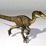 Raptor sprint animation by maccollo