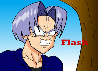 Trunks goes insane by Camron23