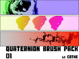 Quaternion Brush Pack 01 by cothe