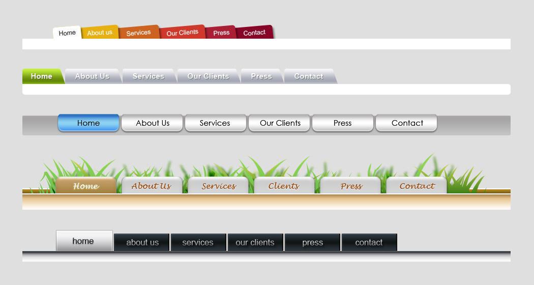 tab menu by NewJayne