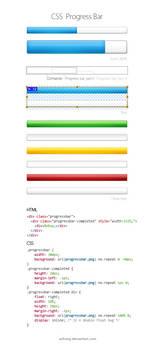 CSS Progress Bar by Ashung