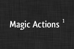 Magic Action 1 by Ashung
