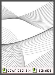 Abstract Lines Brushes by kingshanno
