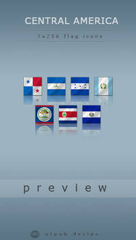 Central American Flags