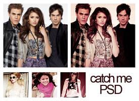 Psd catch me. by MyloveRobsten