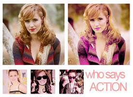 Action who says. by MyloveRobsten
