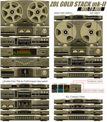 ZDL GOLD STACK REEL-TO-REEL by mikezee