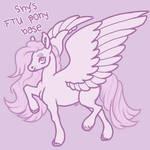 shy's f2u pony base by shyponies