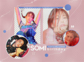 PNG PACK #11 SOMI [BIRTHDAY]