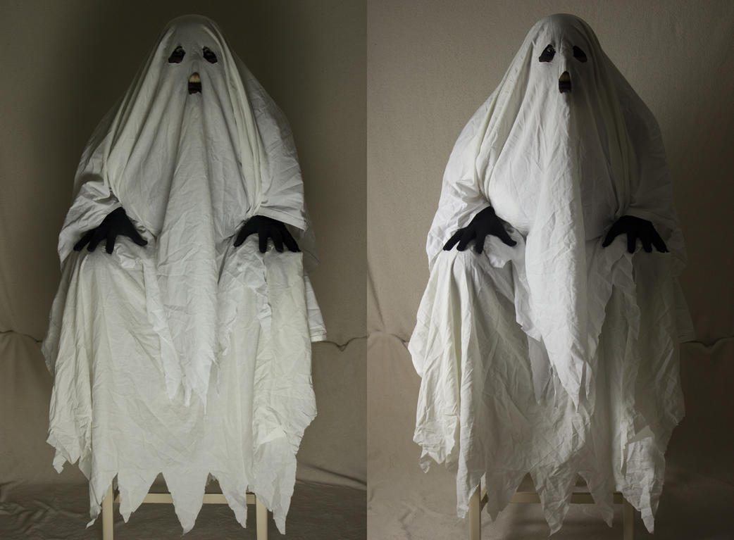 Bedsheet Ghost 12 by The-Lionface